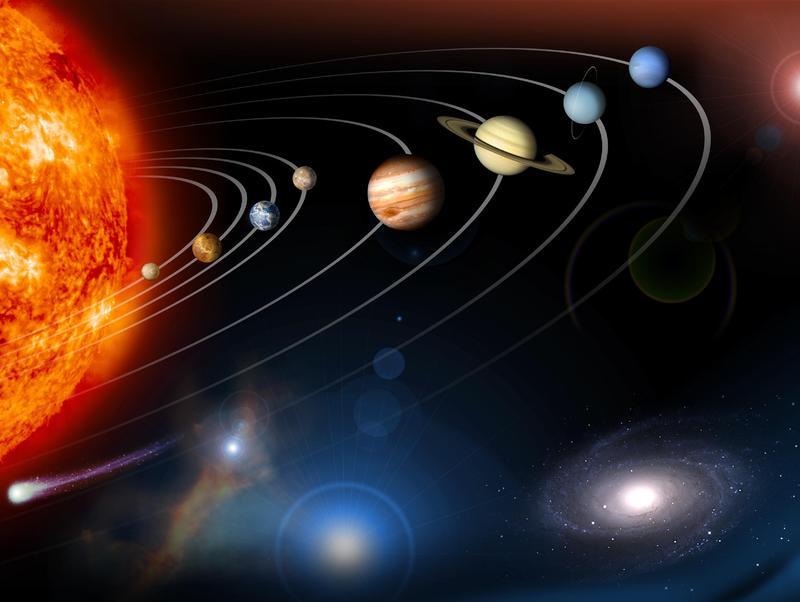 Planeten In Der Milchstraße