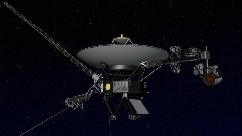 Voyager 2 Sonde sendet erste Daten aus dem interstellaren Raum