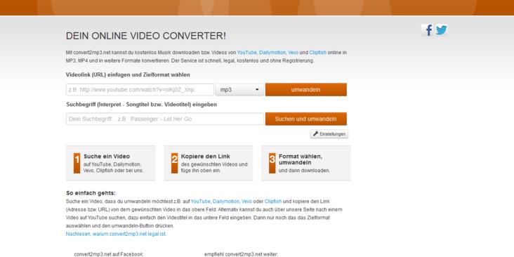 Convert2mp3 App: Musik Und Videos Von YouTube & Co