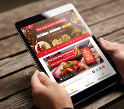 Rocket Internet - Delivery Hero - Tablet