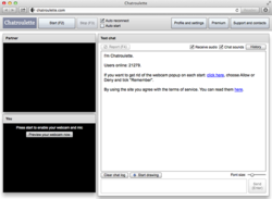 Video chatroulette for you!