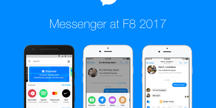 Facebook Messenger F8 2017