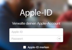 apple id verknüpfen