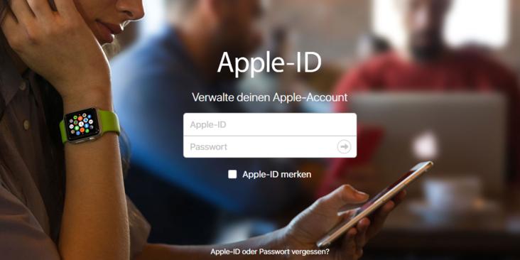 passwort apple id ändern