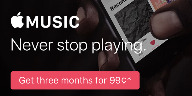 Apple Music Advertisement