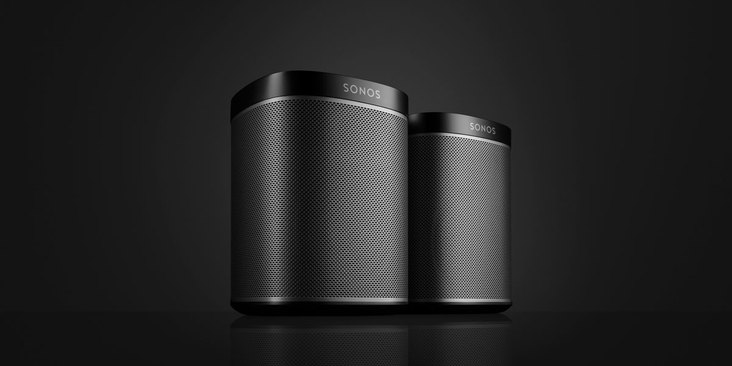 Sonos - 2 Play 1 Pair - black