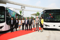 BYD Electric Blue Bus
