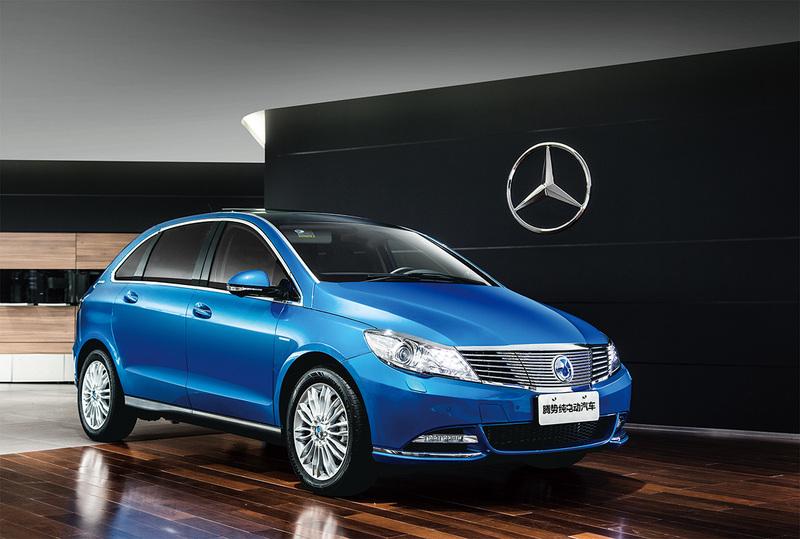 BYD investiert in das Daimler Elektroauto-Joint Venture Denza