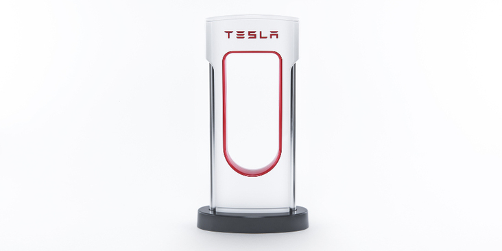 Tesla Desktop Supercharger Mini