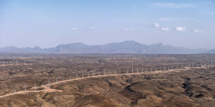 Vestas Wind Systems - V52 850 - Lake Turkana, Kenia