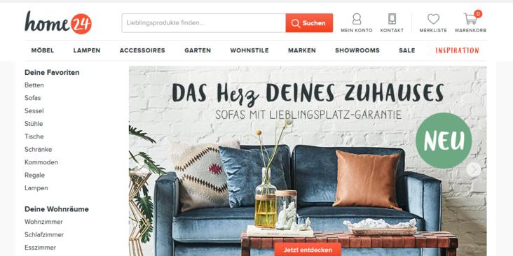 Online Möbelhändler Home24 Warnt Aktionäre Umsatzwachstum