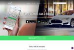 Taxify - Hompage