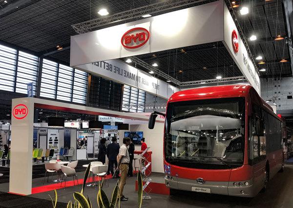BYD: Kansas City International Airport ordert weitere Elektrobusse