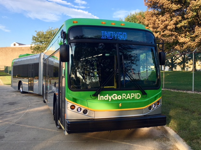 BYD: IndyGo startet Red Line Bus-Service in Indianapolis