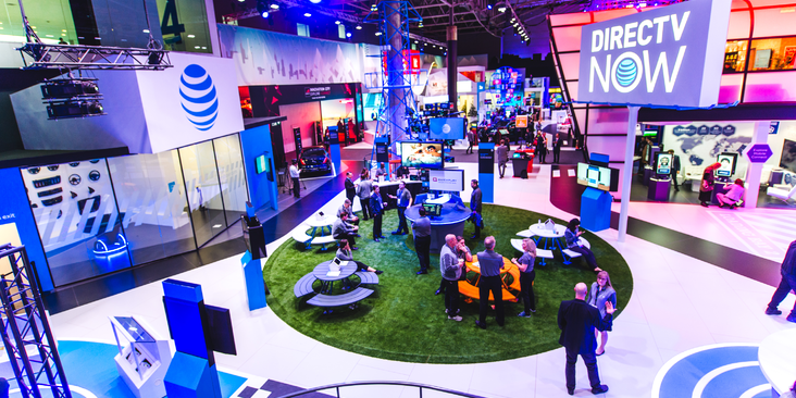 AT&T - MWC Booth