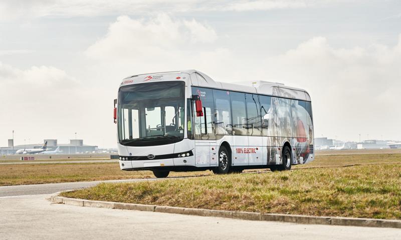 BYD erhält Elektrobus-Großauftrag für die spanische Hauptstadt Madrid