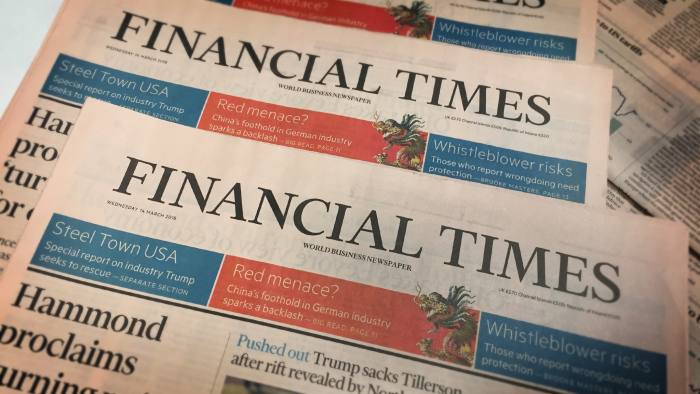 Wirecard Financial Times
