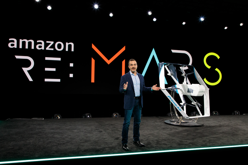 Amazon stellt smarte Elektro-Drohne zur Paketlieferung vor