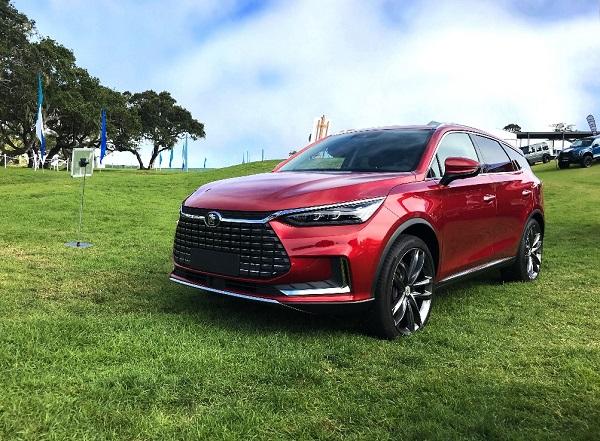 BYD zeigt im kalifornischen Pebble Beach neuen elektrischen Luxus-SUV
