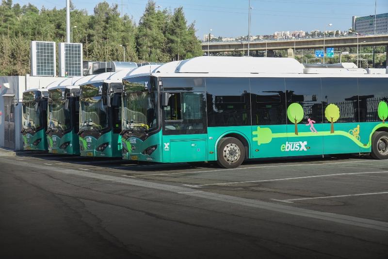 BYD startet Betrieb von Elektrobus-Flotte in der israelischen Metropole Jerusalem