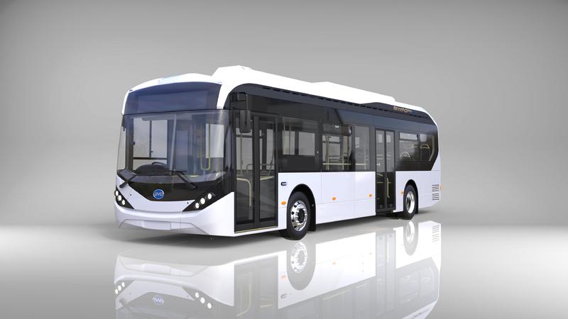 BYD und ADL stellen neues Elektrobus-Modell Enviro200EV vor