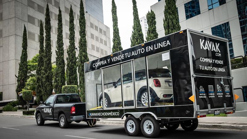Softbank beteiligt sich an mexikanischer Autohandels-Plattform Kavak