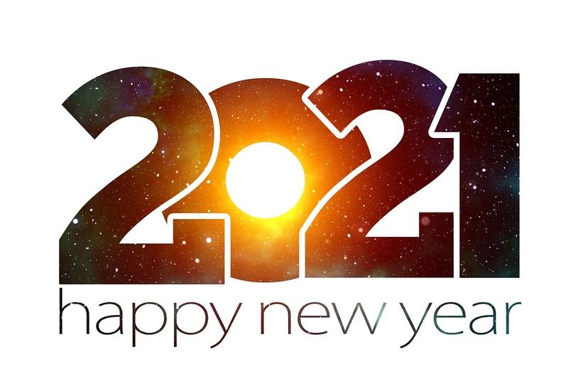 Ein Gesundes Neues Jahr 2021