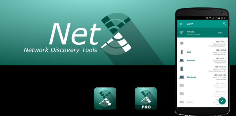 NetX Network Tools Pro – Eine beliebte Android-App für Netzwerk-Analyse mit Smartphone oder Tablet