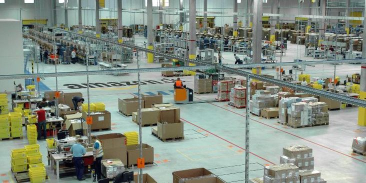 Amazon.com - Logistikzentrum Leipzig