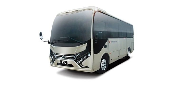 BYD Electric Bus K6