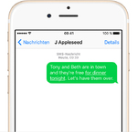 Apple - iMessage - SMS