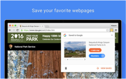 Google Chrome Bookmarks - Save to Google